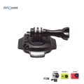 Proocam Pro-J092 Mount for Helmet 360-degree roration with lock for Gopro Hero , SJCAM , MI YI